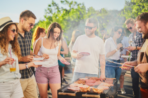 Fundraising ideas barbeque with friends
