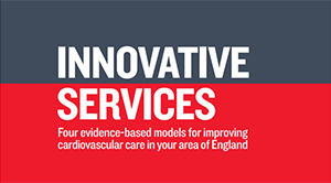 Artwork for the BHF report, Innovative Services