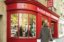 British Heart Foundation shop