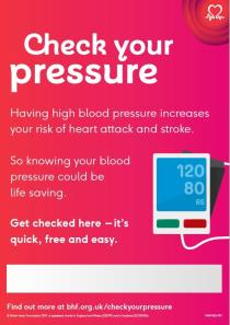 Check your pressure poster
