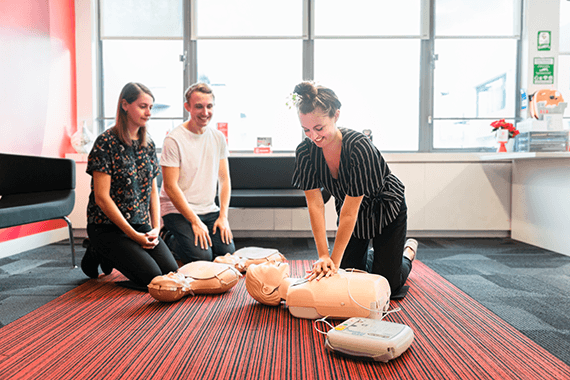 Group learning CPR