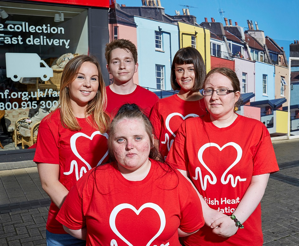 Volunteering opportunities with the British Heart Foundation