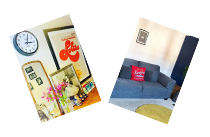 Items shared by our customers of their BHF purchases in their new homes