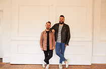 Design duo Forward Features - David and Mark