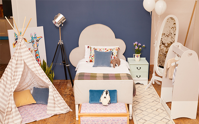 BHF Makeover Challenge cozy child's room look
