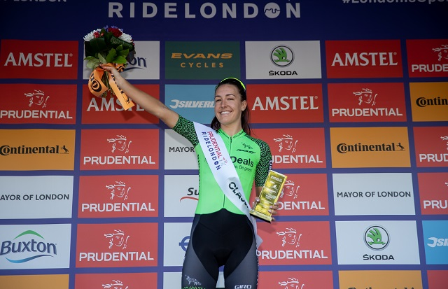 picture of Dani Rowe at RideLondon