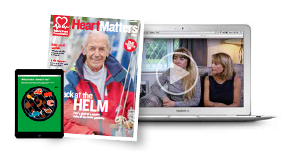 heart matters landing page image
