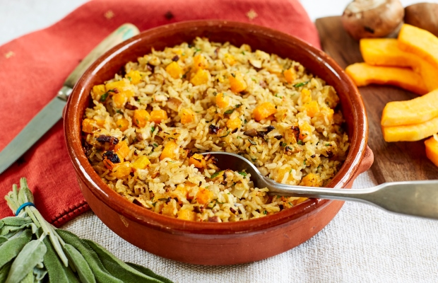 Brown rice sage and onion stuffing