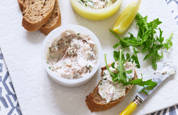 Mackerel pâté with horseradish