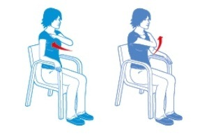 chair based exercises heart matters magazine